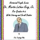 This is a 22 page packet about Dr. Martin Luther King, Jr. and has been designed for grades 4-6.  Literacy activities have been included.  The 22 p...
