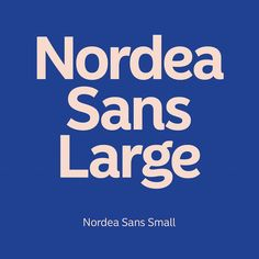 With design direction by @boldstockholm we have developed the new Nordea Sans family. All in all 18 styles, divided in 2 subfamilies for Text and Display.   #typography