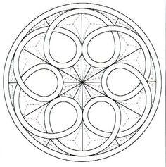 Risultati immagini per dibujo flor galana paso a paso Geometric Drawing, Geometric Mandala, Mandala Drawing, Geometric Designs, Mandala Design, Mandala Art, Geometric Shapes, Zentangle Patterns, Mandala Pattern