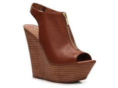 Why must I always fall in love with 5+ inch heels/wedges? I'm tall enough! They do wonders for my legs, though.