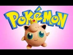 How to Make a Jigglypuff 👑 Polymer Clay - YouTube