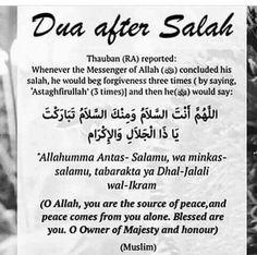 Dua after Salah Best Islamic Quotes, Quran Quotes Love, Quran Quotes Inspirational, Islamic Phrases, Beautiful Islamic Quotes, Islamic Messages, Muslim Quotes, Religious Quotes, Beautiful Dua