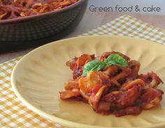 Orecchiette al forno con melanzane http://blog.giallozafferano.it/greenfoodandcake/orecchiette-forno-melanzane/
