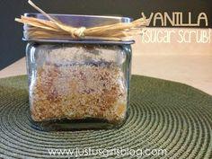 Just Us Girls: DIY: Vanilla Sugar Scrub