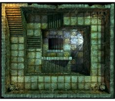 Hall of Fallen Angel - Stairs_N2