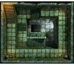 Hall of Fallen Angel - Stairs_N2