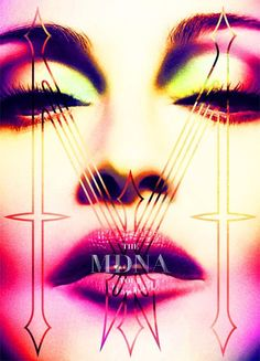 Official Madonna cover for the MDNA tour book!