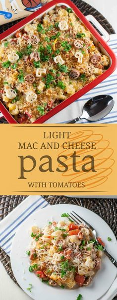 Light Mac and Cheese uses pasta water and less cheese! Simple to make and not short on flavor! The kids will love it and so will you. A healthier choice! Healthy Pasta Recipes, Healthy Pastas, Quick Dinner Recipes, Noodle Recipes, Simple Recipes, Amazing Recipes, Rice Recipes, Yummy Recipes, Mac And Cheese Pasta