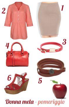 donna-a-mela-outfit-pomeriggio-rosso-pancia-gambe-magre-estate-2014-blogger-curvy-plus-size