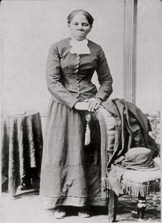 Harriet Tubman, the most celebrated runaway female slave.  Her bravery and selflessness has long inspired generations.