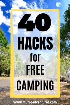 Free Camping in Australia - 40 HINTS, TIPS, & HACKS that will keep you camping longer. How to get your caravan set up for free & low cost camping. Suv Camping, Camping Hacks, Aire Camping Car, Camping Essentials, Family Camping, Camping Supplies, Motorcycle Camping, Camping Hammock, Camping Cooking
