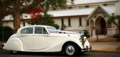 Classic wedding car hire in Brisbane - Jaguar Mark V