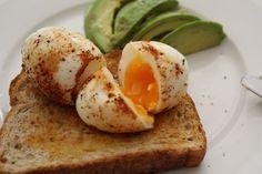 smashed egg and avocado brunch