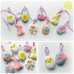 **Dispatched within 1 and 5 business days**  This kit contains everything needed to make your very own Tiny Easter Collection. A full set of 8