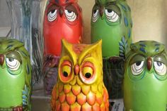 owls.... LOL! These look like they're from the 70's.