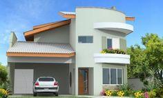 imagenes de fachadas de casas pequeñas blanca
