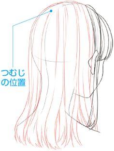 キャラクターの個性や特徴を表現するために、髪の毛は欠かすことのできないパーツです。たとえいい表情が描けても、髪がうまく描けないとキャラクターの魅力は引き立ちません。今回は、男女それぞれの基本的な髪の描き方を、前側・後ろ側に分けて詳しい手順とともに紹介します!