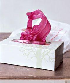 plastic bag storage idea