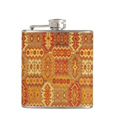 "Title : 26 Tribal Sante Fe Native American.JPG Hip Flask  Description : Words to describe Tribal; ""Native-American's, Indian, Tribes, ""Tribal-Prints"", ""Geometric-Patterns"", ""Miscellaneous-Shapes"", Diamonds, Squares, Arrows, ""Repetitive-Patterns"", ""Fabric-Weaving"", Tapestry, Beads, ""Animal-Bones"", ""Ethnic-Tribes"", Cultural, Cultures, ""Southwest-Patterns"", ""Animal-Pattern-Prints"", ""Ethnic-Prints"", Ganado, ""Native-Traditional-Patterns"", Ikat, ""Navajo-Art"", Weaving, ""Design-Elements, Diamonds…"
