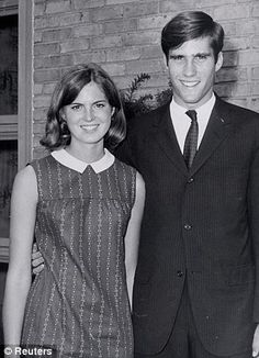 Young Ann Romney and Mitt