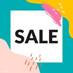 Promotional Banners, Promotional Design, Sale Signage, Instagram Frame, Sale Banner, Sale Poster, Banner Template, Free Illustrations, Business Branding
