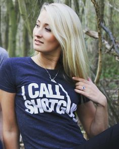 I call shotgun t-shirt www.youngandcountry.com/ladies Shotgun, Country, Lady, T Shirt, Image, Tops, Women, Fashion, Supreme T Shirt
