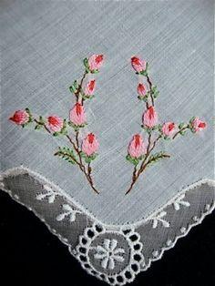 Vintage handkerchief! I still use handkerchiefs but getting hard to fine