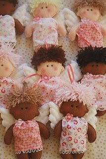 love these little felt angels