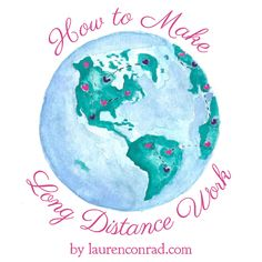 How to Make Long Distance Work {real life relationship advice} #relationship…
