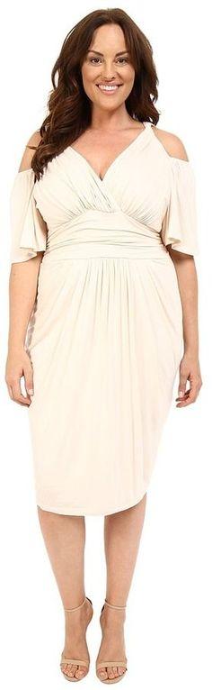 Plus Size Twist Dress