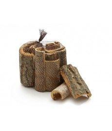 Populierschors bark ±15cm natural 1kg Schors STUKKEN!!