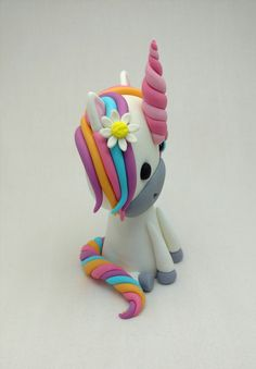 Unicorn Horse Pony and Flowers Birthday Cake by SweetComplete