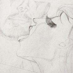 Más de #redmoon  Vehemencia - Serie Luna Roja \sketch1 #amor #pasion #luna #roja #moon #parejas #sol #solyluna #drawn #drawing #ilustraciones #love #lovely #manoalzada #dibujo  #dibujosalapiz #art #artwork #preview  @arcadiawall #illustration #sansalvador #elsalvador