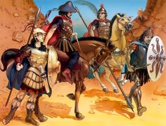 Graeco-Bactrian and Indo-Greek troop and command types under King Eucratides the Great, 170-145