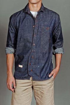 Tradesman's Chambray Shirt by Marshall Artist