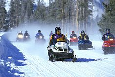 Snowmobile - Wikipedia, the free encyclopedia