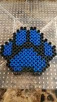 perler bead paw print에 대한 이미지 검색결과