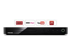 Rent This Superb Toshiba Smart Blu-ray Player For Only £2 per week Features include access to BBC iPlayer, Netflix, YouTube and more on your TV, Enjoy movies in HD, Display HD images on any compatible TV, Allows portable devices such as laptops, tablets and smart phones to send HD video and audio wirelessly to a compatible display and a whole lot more, Free Delivery  http://tidd.ly/79d5c68e