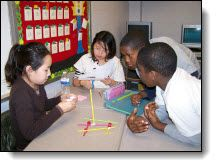 Cooperative Learning: Initial considerations, free online instrument for assessing preferred learning style, benefits and disadvantages of classroom collaboration. Cooperative Learning Activities, End Of Year Activities, Teaching Activities, Teaching Kids, Stem Activities, Classroom Activities, Teaching Tools, Grouping Students, School Classroom
