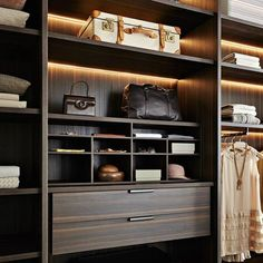 The best of luxury closet design in a selection curated by Boca do Lobo to inspire interior designers looking to finish their projects. Discover unique walk-in closet setups by the best furniture makers out there. Walk In Closet Design, Bedroom Closet Design, Wardrobe Design, Closet Designs, Walk In Wardrobe, Bedroom Wardrobe, Wardrobe Closet, Master Closet, Sliding Wardrobe