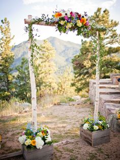 how to make wooden wedding arch - Google Search