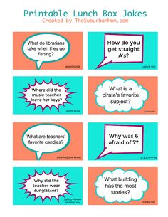 Give your kids a lunchtime laugh with these free printable lunch box jokes. The…