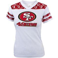 NFL Girls' San Fransico 49Ers Short Sleeve Tee