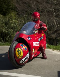 Like the anime Akira? Not as much as this guy as he's built th bike from the movie in real life!