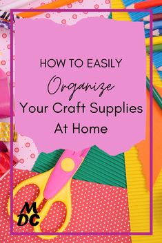 Do you have a messy craft closet like I did? Here are 8 steps to organize a craft closet that you can do within a day or two on a budget. #craftsupplies #organization Free Planner, Planner Template, Shredded Paper, Home Decor Hacks, The Fragile, Organizing Your Home, Decorating On A Budget, Easy Diy Projects, Storage Boxes