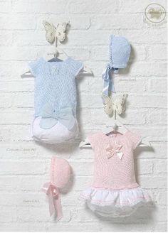 Carmen Taberner  Conjunto niño en talla 3 y 6 meses  Conjunto niña en talla 6 meses  https://www.facebook.com/bambinellamodainfantil