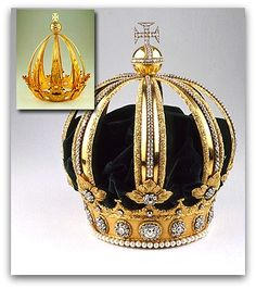 The Imperial Crown of Brazil (also known as the Crown of Dom Pedro II)