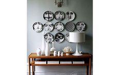 <p>Sucesso nas décadas passadas, os objetos deixaram a mesa e foram parar na parede </p>