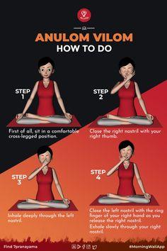 Learn Yoga, How To Do Yoga, Migraine Pain, Pranayama, Yoga Quotes, Quotes Quotes, Yoga Meditation, Namaste Yoga, Morning Yoga