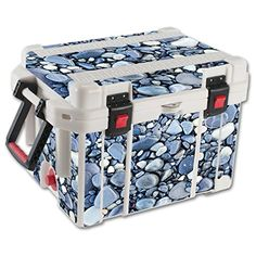 MightySkins Protective Vinyl Skin Decal for Pelican 35 qt Cooler wrap cover sticker skins Rocks * Read more reviews of the product by visiting the link on the image.